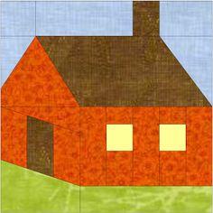 Patchwork en Casa - Anna&Patchwork: Bloque de la Semana: Patch House