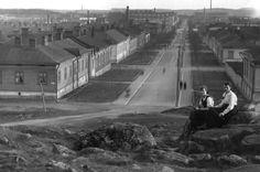 Tammelan puistokadun pohjoispää 1930