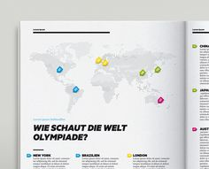 Magazine Infographics on Behance