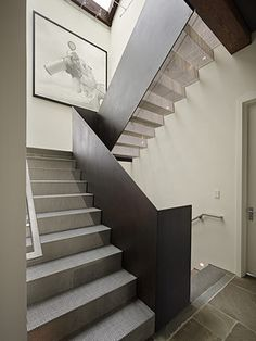 Art House Stair - modern - staircase - seattle - DeForest Architects