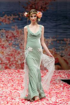wedding dresses from paridise | 2013 wedding dress by Claire Pettibone An Earthly Paradise bridal ...
