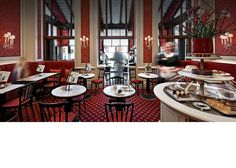 Café Sacher  Enjoy the authentic Viennese coffee house atmosphere with a slice of original Sachertorte and a cup of Sacher coffee. A magnificent winter garden frames uninterrupted views of the State Opera House and is transformed into a terrace in Summer...