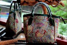 #batik #tulis #indonesia #woman #fashion #bag