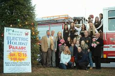Library Director Ted Gutmann has been named Grand Marshal of this year's Three Village Electric Holiday Parade, an annual tradition in the community.  The parade will be held on Sunday, December 15 at 5:00 p.m. The parade route begins at the library and the library will also serve as one of the refreshment areas prior to the start time.  Please note: In order to accommodate the parade, which will assemble in front of the library, the library will close early at 3pm.  Photo credit: Trevor…