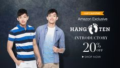 It's a state of Mind Thing! Buy Hangten Men's Clothing at FLAT 20% Discount at Amazon India #AmazonIndia #Hangten #Apparels #Shopping #india #Deals