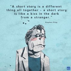 Great quote from Mr. Stephen King.