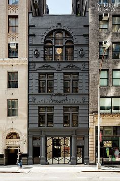 The cast-masonry firehouse at Black Ocean in New York by Rafael de Cárdenas/Architecture at Large dates to 1894.
