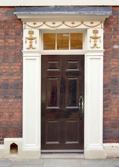Entrance Door - Design From The Historical Record - 2326CDJ