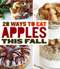 28 Ways To Eat Apples This Fall