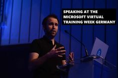 Speaking at the Microsoft Virtual Training Week Germany 2020 - Thomas Maurer Video On Demand, Windows Server, End Of Life, Public Speaking, Microsoft, Germany, Training, Deutsch, Fitness Workouts