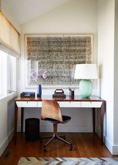 An organic modernist workspace