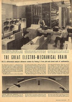 The Great Electro-Mechanical Brain, Page 1