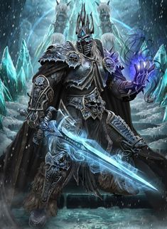 World of Warcraft: Battle for Azeroth World Of Warcraft, Warcraft Art, Warcraft Legion, Fantasy Armor, Dark Fantasy, Arthas Menethil, Lich King, Death Knight, Heroes Of The Storm
