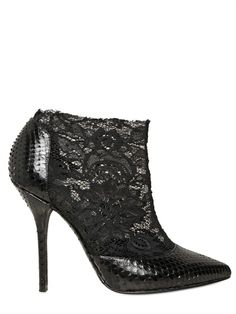 Beautiful lace pointy boots - Dolce & Gabbana