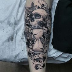 Mauro Nunes tattoo #mementomori memento mori