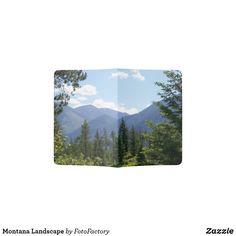 Montana Inspiring Landscape Passport Holder