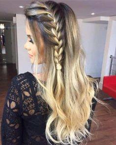53 Box Braids Hairstyles That Rock - Hairstyles Trends Box Braids Hairstyles, Pretty Hairstyles, Everyday Hairstyles, Black Hairstyle, Hairstyles 2018, Hairstyle Ideas, Curly Hair Styles, Natural Hair Styles, Trending Hairstyles