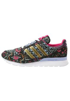 adidas Originals ZX 500 Sneaker low core black/gold metallic/merlot für  Damen -