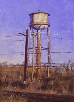"Daily Paintworks - ""Forgotten"" - Original Fine Art for Sale - © Ski Holm"