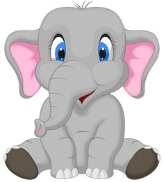 Clip Art of Cute Baby elephant - Search Clipart, Illustration Posters, Drawings, and EPS Vector Graphics Images - Cute Elephant Cartoon, Cute Baby Elephant, Elephant Nursery, Cartoon Elephant Drawing, Elephant Elephant, Giraffe, Cartoon Cartoon, Cute Clipart, Clipart Baby
