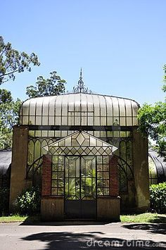 Old Victorian greenhouse