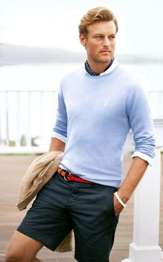 I have an odd obsession with preppy men's clothing.... I hope ...
