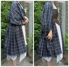 How to make an Outlander costume – Part 1: Arisaid / Great Kilt ...