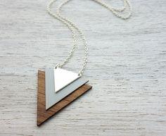 Iceland Necklace geometric signature door shlomitofir