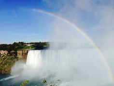 This view never gets old! @ Niagara Falls, Canadian side.