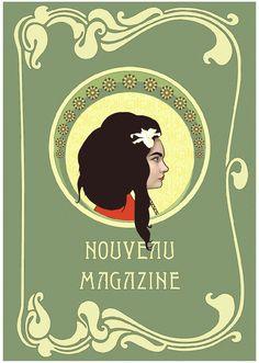 """Check out my @Behance project: """"Nouveau Magazine"""" https://www.behance.net/gallery/57679795/Nouveau-Magazine"""