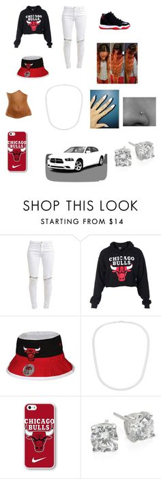 """Untitled #156"" by augustalsinawiffeeyyy ❤ liked on Polyvore featuring FiveUnits, NIKE, Simon Frank and Crislu"