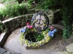 Chalice Spring, the actual well that feeds all the pools in the garden. there is no denying that this has a spiritual feel. Garden Pool, Garden Landscaping, Magick, Wicca, Event Calendar, Heart Chakra, Pool Designs, Mystic, Fountain