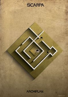 Federico Babina's ARCHIPLAN Illustrations Analyze the Floorplans of Master Architects,© Federico Babina