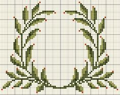 Calendrier Avent 2014 Archives - Page 2 sur 5 Xmas Cross Stitch, Cross Stitch Heart, Cross Stitch Borders, Modern Cross Stitch, Cross Stitch Flowers, Cross Stitch Designs, Cross Stitching, Cross Stitch Embroidery, Embroidery Patterns