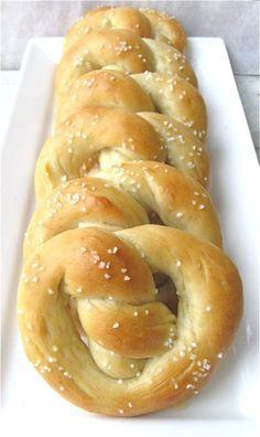 WHOA. Grain-free soft pretzels?!
