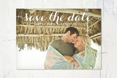 A Sign of the Times: UPrinting Save-the-Date Postcards Giveaway! | Intimate Weddings - Small Wedding Blog - DIY Wedding Ideas for Small and Intimate Weddings - Real Small Weddings
