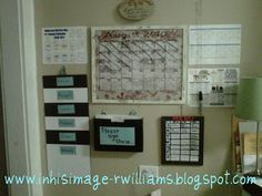 EIGHT IS ENOUGH!!!: MY HOME COMMAND CENTER