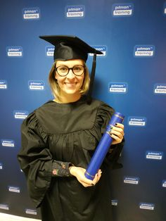 Executive PA Diploma graduate from Pitman Training Waterford. Well done Fran! Graduation, Training, Student, Fashion, Moda, Fashion Styles, Fitness Workouts, Fasion, Gym