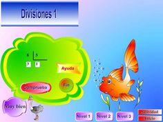 INTRODUCCIÓN A LA DIVISIÓN      DIVISIONES- NIVEL 1       JUEGOS MATEMÁTICOS       REPARTOS Y DIVISIÓN