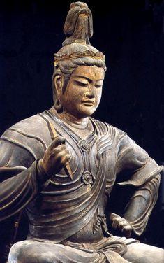 京都   東寺  帝釈天半跏像