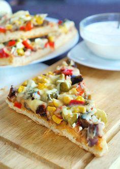 Doprawione fantazją...: Pizza domowa