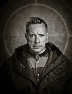 Black and White portrait of punk music legend John Lydon (scheduled via http://www.tailwindapp.com?utm_source=pinterest&utm_medium=twpin&utm_content=post136411129&utm_campaign=scheduler_attribution)