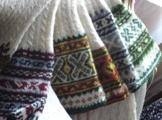 LATVIAN PATTERNED SOCKS