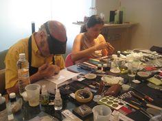 Certificaciones en Sucursales de #MineraliA con la nueva Técnica #Metal Clay #ArcilladePlata