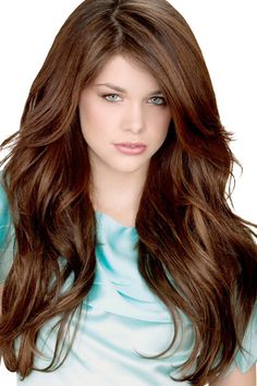 Long layered hair!
