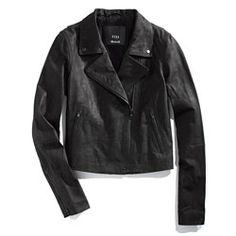 Veda® x Madewell Leather Motorcycle Jacket