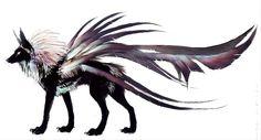 Feonix wolf, created by Nukerooster.Devianart.com