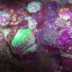 Macro photography of some glitter and glitter dust :) of you like it you can follow my insta -> makeuptimebyalex