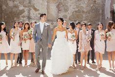 Betty + Memo : villa wedding