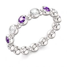 Aquarius Birthstone - Amethyst.  #Aquarius. #Amethyst.   #Jewelry